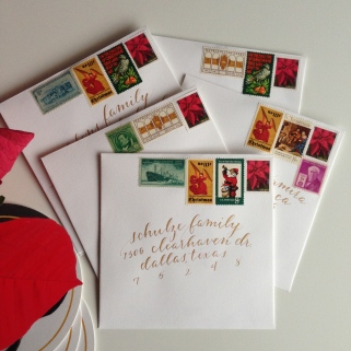 Christmas Cards | Natalie Grace Calligraphy Co.