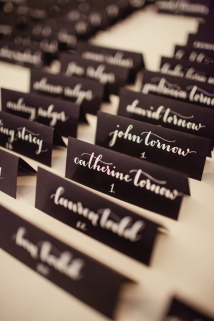Name Cards | Natalie Grace Calligraphy Co.